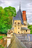 Castle of Usse in the Loire Valley, France Stock Photos