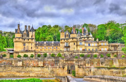 Castle of Usse in the Loire Valley, France Stock Photography