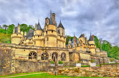 Castle of Usse in the Loire Valley, France Stock Images