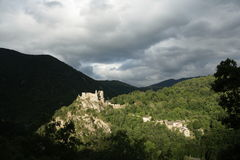 Castle of Usson, France Stock Image
