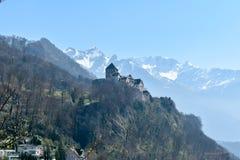 Castle Vaduz - του Λιχτενστάιν Στοκ Φωτογραφίες