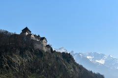 Castle Vaduz - του Λιχτενστάιν Στοκ φωτογραφία με δικαίωμα ελεύθερης χρήσης