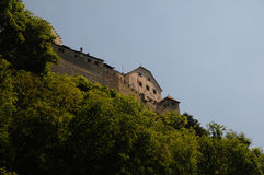 Castle in Vaduz Royalty Free Stock Images
