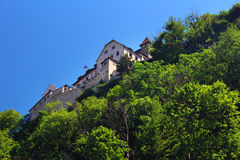 Castle in Vaduz, Liechtenstein Royalty Free Stock Images