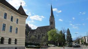 Castle Vaduz of Liechtenstein Stock Photo