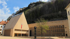 Castle Vaduz of Liechtenstein Royalty Free Stock Image