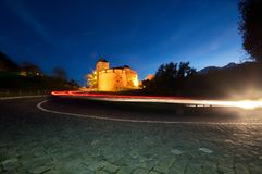 Castle of Vaduz in Liechtenstein Royalty Free Stock Photo