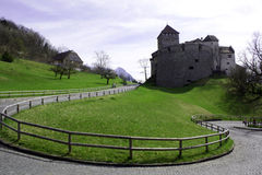 Castle of Vaduz Royalty Free Stock Photo
