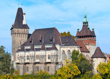 Castle of Vajdahunyad Royalty Free Stock Photo
