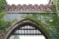 Castle of Vajdahunyad Stock Photography