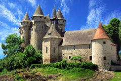 Castle in Val, France Stock Photos