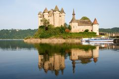 Castle Val, France Stock Images