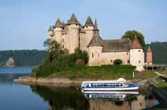 Castle Val, France Royalty Free Stock Images