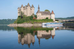 Castle Val, France Stock Photography