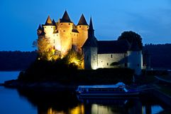 Castle Val, France Stock Photos