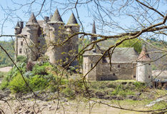 The Castle of Val Stock Photography