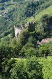 Castle in the Val Venosta Trentino Alto Adige Royalty Free Stock Photos