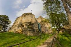 Castle Valecov. The Castle Valecov, Czech Republic royalty free stock photo
