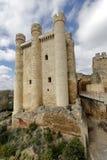 Castle at Valencia de Don Juan, Castilla y Leon Stock Photos