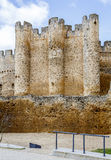 Castle at Valencia de Don Juan, Castilla y Leon Stock Photography