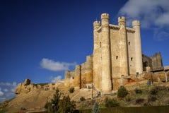 Castle at Valencia de Don Juan, Castilla y Leon, Spain Stock Image