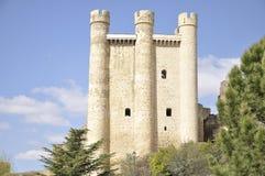 Castle of Valencia de Don Juan, Leon, Spain Royalty Free Stock Photo