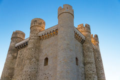 Castle Valencia de Don Juan Royalty Free Stock Photography