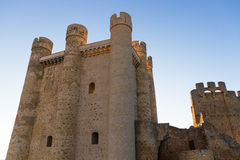 Castle Valencia de Don Juan Stock Images