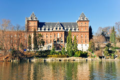 Castle of Valentino in Turin Royalty Free Stock Photography