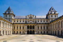 The Castle of Valentino, Turin Royalty Free Stock Image