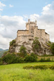 Castle in the valley of Aosta Royalty Free Stock Images