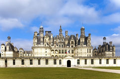 Castle of a valley of the river Loire. France.  Royalty Free Stock Photos