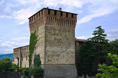 Castle of Varano de' Melegari. Emilia-Romagna. Italy. Royalty Free Stock Images