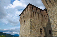 Castle of Varano de' Melegari. Emilia-Romagna. Italy. Royalty Free Stock Photos