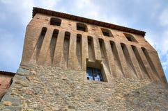 Castle of Varano de' Melegari. Emilia-Romagna. Italy. Royalty Free Stock Photography
