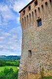 Castle of Varano de' Melegari. Emilia-Romagna. Italy. Royalty Free Stock Image