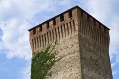Castle of Varano de' Melegari. Emilia-Romagna. Italy. Stock Image