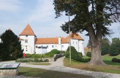 Castle of Varazdin Stock Photo