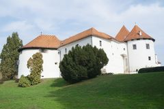 Castle of Varazdin Stock Images