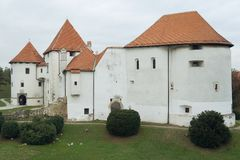 Castle of Varazdin Royalty Free Stock Image