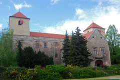 Castle, Varpalota, Hungary Stock Photo