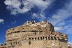 Castle in Vatican Stock Photography