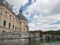 Castle Vaux le Vicomte Stock Images