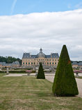 Castle Vaux le Vicomte Royalty Free Stock Image