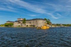 Castle Vaxholm, Σουηδία Στοκ φωτογραφία με δικαίωμα ελεύθερης χρήσης