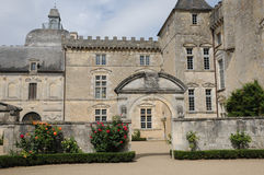 The castle of Vayres in Gironde Stock Photography