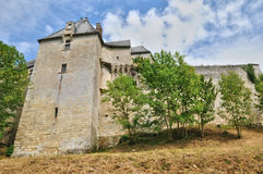 Castle of Vayres in Gironde Royalty Free Stock Photos