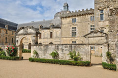 Castle of Vayres in Gironde Royalty Free Stock Photography