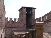 Castle Vecchio or old castle in Verona in Italy Stock Photography
