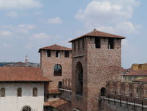 Castle Vecchio or old castle in Verona in Italy Stock Image